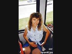 عوضی بالغ زرق و برق فلیم های سسکی دار در لباس زیر زنانه با یک پسر جلوی یک عکاس fucks می کند